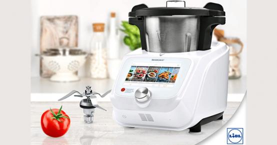 Robot de cuisine monsieur cuisine connect